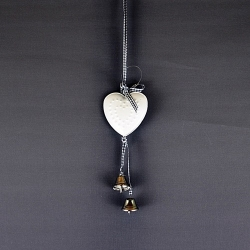 Metal heart small - pendant