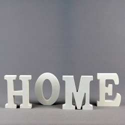 Wooden letters Home