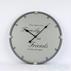 Wall clock Family and Friend - 60 cm