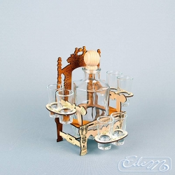 Throne - occasional vodka carafe