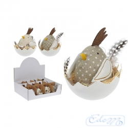 Hen in the shell - Easter decoration - mix