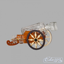 Cannon carafe with glasses