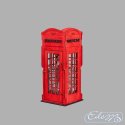 English telephone booth - carafe