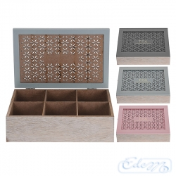 Openwork tea box - mix