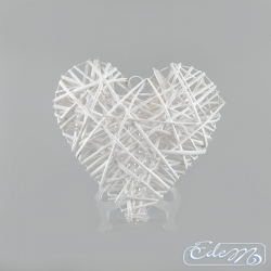 Wicker heart - 35 cm