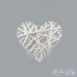 Wicker heart - 20 cm