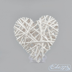 Wicker heart - 30 cm