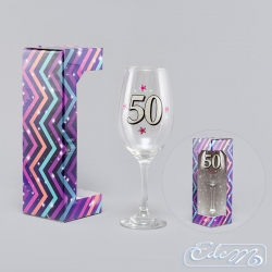 Wine glass XXL - 50th
