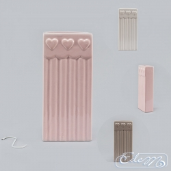 Ceramic Hanging Humidifier for Radiator - stripped - mix