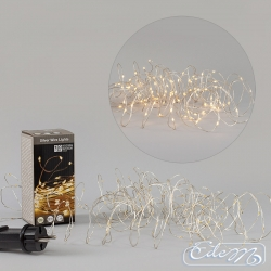 Decorative wire 120 LED - warm light