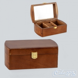 Jewelry box simple - brown
