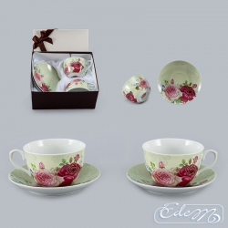Cups for couple - Roses