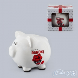 For a date - a ceramic piggy bank