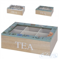 Tea box with the application - mix