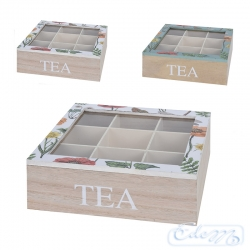 Tea box with the application - large - mix
