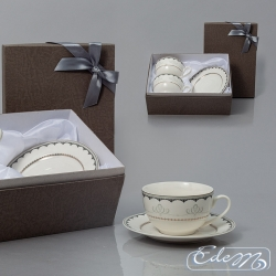 Cups for Two with ornament