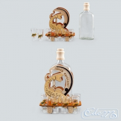 Fishing set - occasional carafe