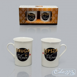 Accomplished Duet - The other half - a set of mugs for Two