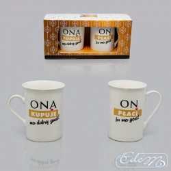 Ripped Duet - She buys - a set of mugs for Two