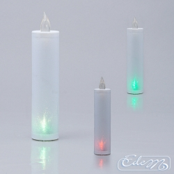 Thin LED candle