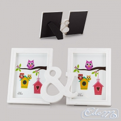 Double 13 x 18 m photo frame