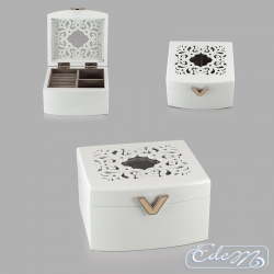 Decorative jewelry box - small