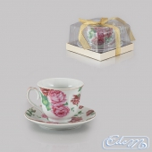 Cup with a rose