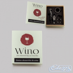 Wine book set - Wine is the answer to everything