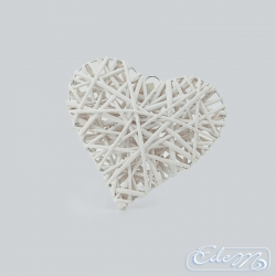 Wicker heart 25 cm