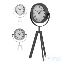 Table clock on 3 legs - mix