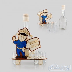 Policeman - occasional decanter