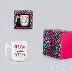 Enjoy the little things - a motivational gift mug