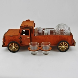Truck - carafe with glasses